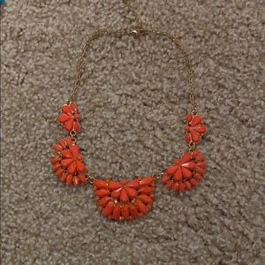 Jewelry - Coral statement necklace